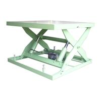 Electric Lift Platform(Table) One type 2-cylinder(Load:2000~5000kg)ELT-108DA~115HA