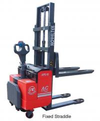 Advanced Powered Pallet Stacker (AC System)(Load:1 Ton /1.5 Tons /1.8 Tons /2 Tons,2200LB~4400LB )